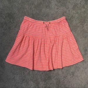 Crewcuts Striped Cotton Skirt, Big Girls' Size 14